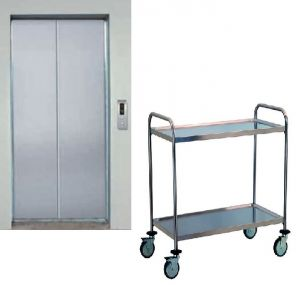 TEC1110 Cart Technical Professional stainless steel small dimension