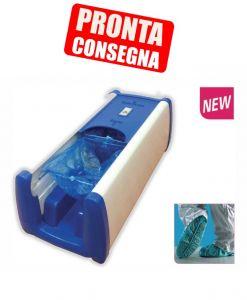 T110020 GOLD Coprifacile PRO 50 distributore automatico copriscarpe in ABS CON 100 CALZARI OMAGGIO