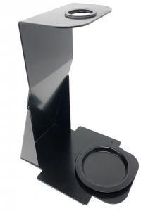 T779053 2 supports de table pour désinfectant pour les mains idéal pour les salles d'entrée et les cabinets médicaux