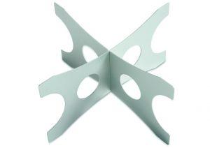 AC-ALZ Elevado h = 20 cm en aluminio para bandejas