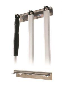 ACH-PP3 Perchero de aluminio de pared de 3 lugares para tapón de ojal