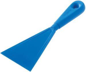 AC-ST Spatola in materiale antiurto colore azzurro, dimensioni 9,5 cm.