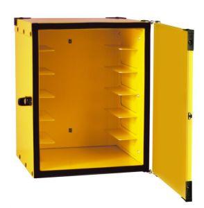 BP33CS Caja para pizza aislada con guías para 12 cajas ø 33 cm
