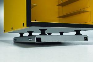 Kit universel amorti BPKIT3 pour fixation à la galerie de toit du cyclomoteur