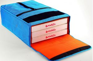 BT406020 Bolsa nevera para 3 cajas de pizza 40x60 cm.