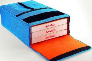 BT4520 Bolsa nevera para 3 cajas de pizza de ø 45 cm