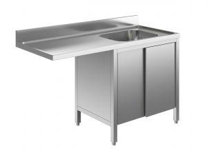 EU01952-14 lavatoio armadio per lavast. ECO cm 140x70x85h  1v e sg sx - porte scorrevoli