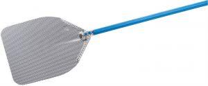 IB-37R-180 Rectangular pizza peel 36x36 cm, stainless steel head, high sliding handle 180 cm