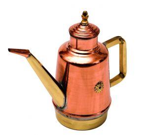 OL15 Vinagrera de aceite de cobre y latón 1.40 litros