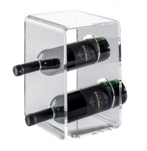 EV00401 TWO - Vitrina de plexiglás para botellas ø 8.2 cm