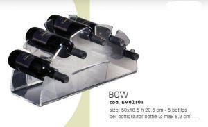 EV02101 BOW - Vitrina de sobre encimera para botellas ø 8.2 cm