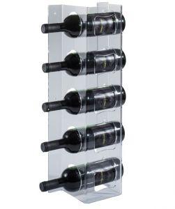 EV00801 COLUMN - Display da parete trasparente per bottiglie  ø 8,2 cm