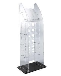 EV04808 BIG TOWER - Large floor display for bottles ø 8.2 cm