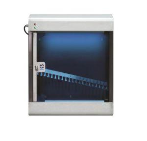 T903024 Esterilizador de cuchillos de acero inoxidable AISI 304 con rayos UVC para 12 cuchillos