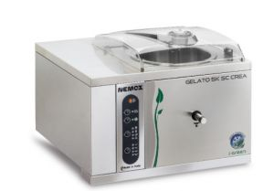 Machine à crème glacée professionnelle GELATO-5K-CREA-SC Nemox I-GREEN