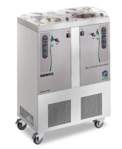 Máquina de helado profesional GELATO5 + 5K-TWIN I-GREEN Nemox Doble