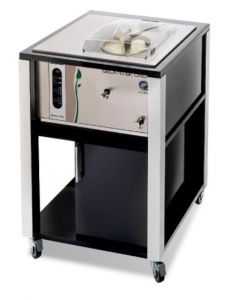 Ice cream 6K T-MN I-GREEN BLACK nemox professional batch freezer suitable for any environment