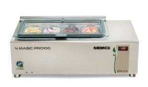 4MAGIC-PRO-100 I-GREEN Conservatore Nemox 4 gusti gelato