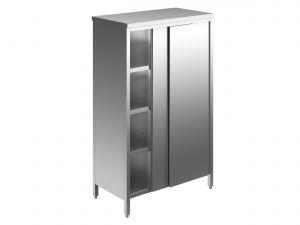 EU04308-10 armadio verticale ECO cm 100x70x180h porte scorrevoli - 3 ripiani regolabili