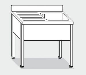 LT1064 Wash on stainless steel legs