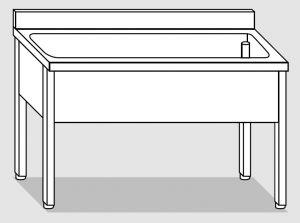 LT1085 dishwasher on stainless steel legs