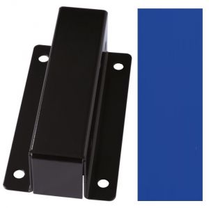 T601006 Support pour la fixation murale des porte-sac acier Bleu