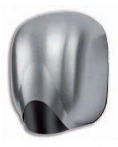 T704312 Asciugamani a fotocellula Alluminio satinato LAMA senza resistenza