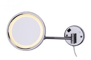 Specchio ingranditore da parete per hotel - Specchio ingranditore con luce ...