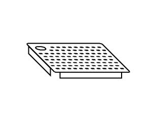 AC2021 perforated false bottom for tanks LEFT