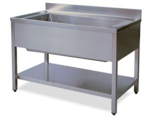 LT1147 Wash legs with stainless steel shelf