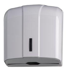 T908021 Towel paper dispenser 300 sheets universal C,Z,M, V-fold