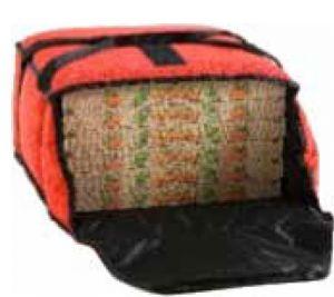 AV4975 Thermal bag for the transport of 5 pizzas diameter 33 cm