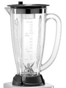 FRBLC15 Vaso de lexan con grupo de cuchillas 1,5 litros