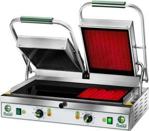 Plaque de cuisson en céramique à double vitrage PV55LRM 3400W