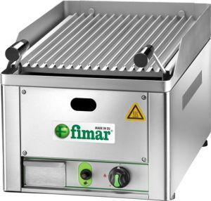 GL33 Griglia a pietra lavica alimentazione a gas con griglia cottura acciaio inox