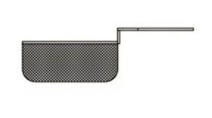 SF10MCEST1 Cestello mezzocesto per friggitrice