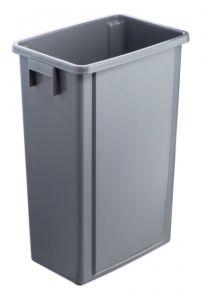 T114200 Grey polypropylene bucket 60 liters