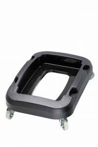 T114201 Carrello con ruote per contenitori raccolta differenziata