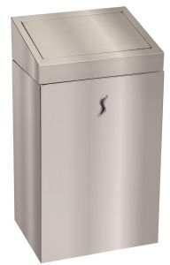 T110520 Stainless steel Push opening waste bin
