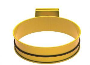 T601004 Bag holder Yellow steel