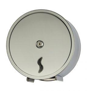 T105000 Distributore di carta igienica acciaio Inox AISI 430 satinato 200 metri
