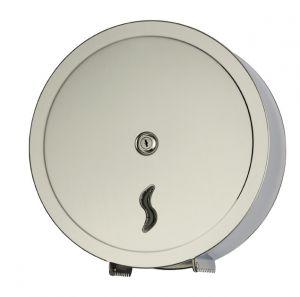 T105005 Distributore di carta igienica acciaio Inox AISI 430 satinato 400 metri