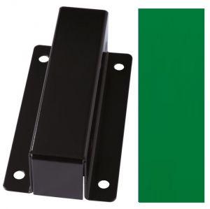 T601008 Support pour la fixation murale des porte-sac acier Vert