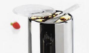 VGCPLEX Tapa de polycarbonate por carapina helado diámetro 200mm