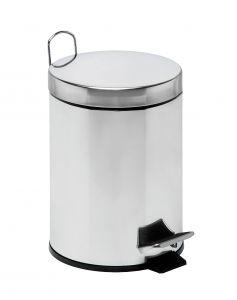 T106405 Pedal bin with galvanized steel inner bucket 5 liters (multiple 4 pcs)