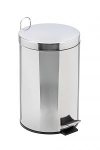 T106412 Pedal bin with galvanized steel inner bucket 12 liters (multiple 2 pcs)