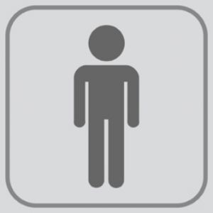 Etichetta bagno uomini for Bagno uomini e donne