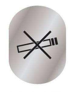 T719957 Plaque pictogramme aluminium Ne Pas Fumer