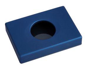 T130009 Distributore di sacchetti igienici HDPE ABS blu soft-touch