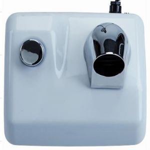 T704075 Push button hand dryer with hose
